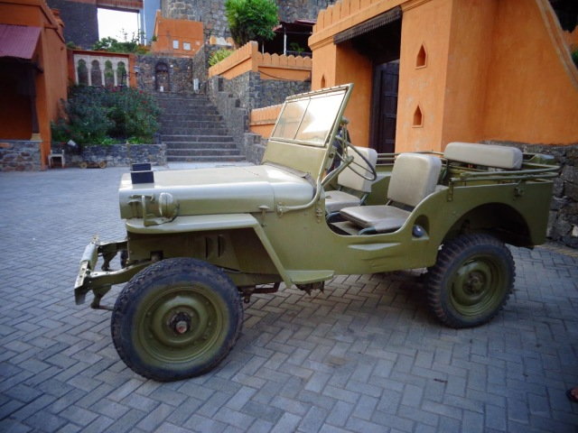 Jeep, Pune, Fort Jadhavgadh