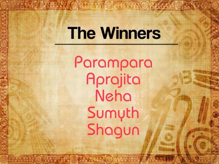 Book Winners