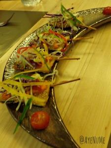 Sesame Zucchini at Ithaka