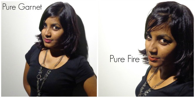 Pure Garnet v/s Pure Fire
