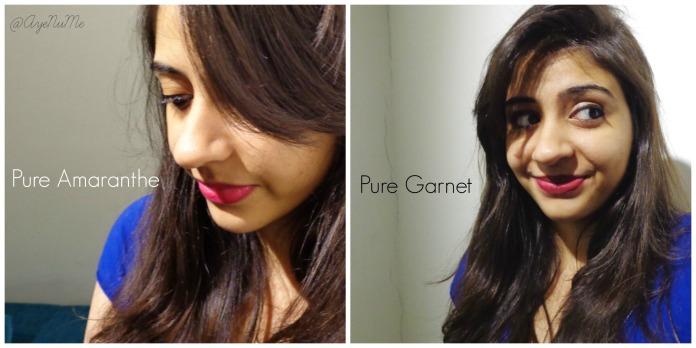Pure Amaranthe & Pure Garnet