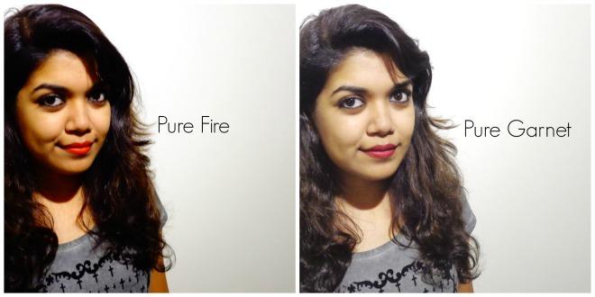 Pure Fire V/s Pure Garnet