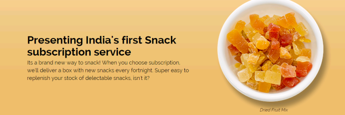 Snackosaur claims to be India's first Snack Subscription Service