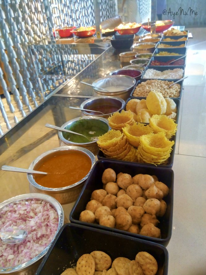 Chaat in Hotel